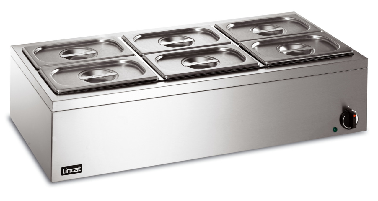 Stainless Steel Table Top Electric Food Warmer Bain Marie